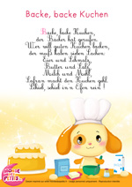 Paroles_Backe, backe Kuchen