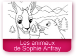 Les animaux de Sophie Anfray