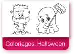 Coloriages: Halloween