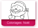 Coloriages: noël