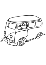 Coloriage Le bus