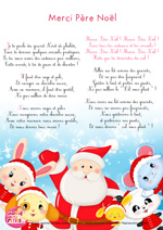 Paroles_Merci Père Noël - Chanson de Noël