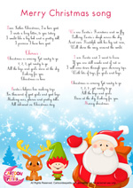 Paroles_Merry Christmas song