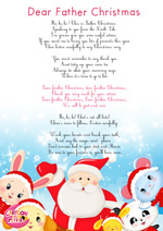 Paroles_Santa Claus Song -Dear father christmas