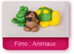 Fimo : Les animaux
