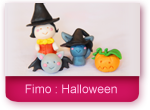 Fimo : Les personnages d'Halloween