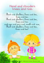 Paroles_Head shoulders knees and toes