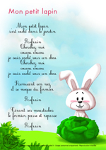 Paroles_Mon petit lapin
